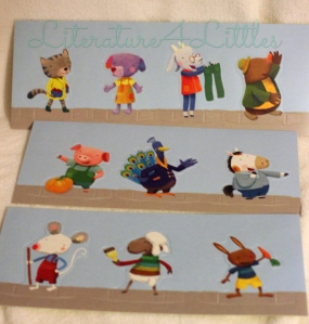 Pop-out characters